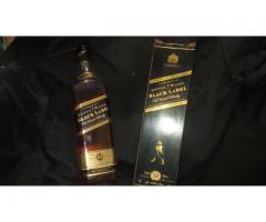 Whisky etiqueta negra