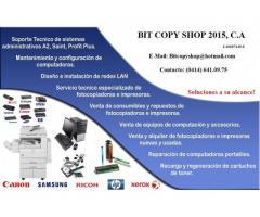 Servicio Tecnico Mantenimiento Reparacion Computadoras Impresoras fotocopiadoras