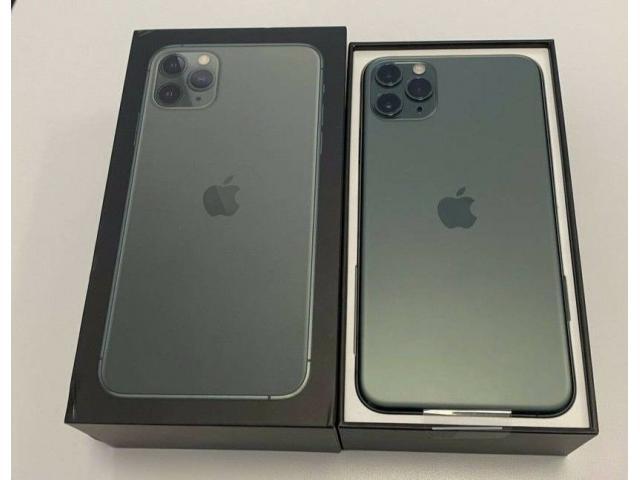 Apple iPhone 11 Pro  64GB = $600, iPhone 11 Pro Max  64GB = $650, iPhone 11  64GB =  $470 - 1/6