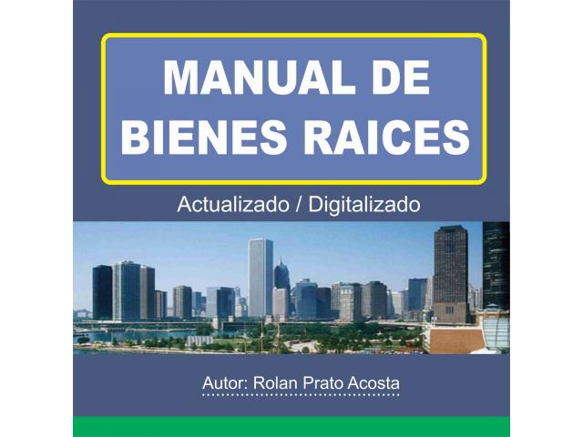 MANUAL DE BIENES RAICES - 1/2