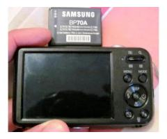 Se vende cámara Samsung doble pantalla