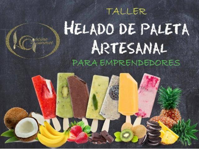 TALLER DE HELADO DE PALETA ARTESANAL del 10 al 14 de febrero 2020 - 1/6