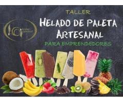 TALLER DE HELADO DE PALETA ARTESANAL del 10 al 14 de febrero 2020