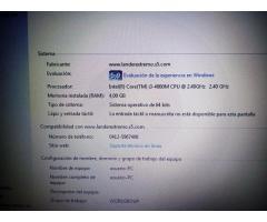 LAPTOP I3 4GB DE RAM, 2 GB DE VIDEO, 500 DISCO DURO