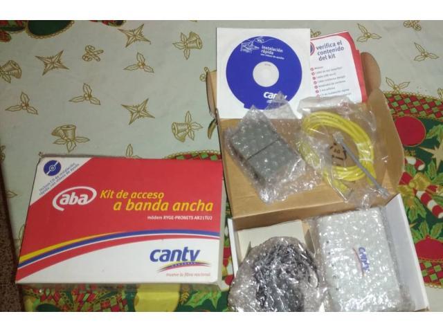 Kit De Acceso A Banda Ancha Cantv  **Nuevo** - 1/1