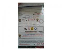 Certificados médicos viales