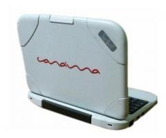 Laptop Canaima letras rojas USADA