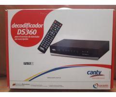 Decodificador para television satelital CANTV