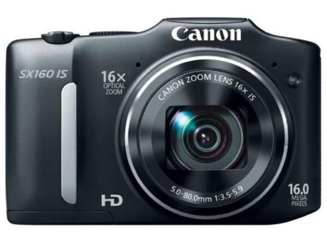 camara Canon SX160 is - 1/3