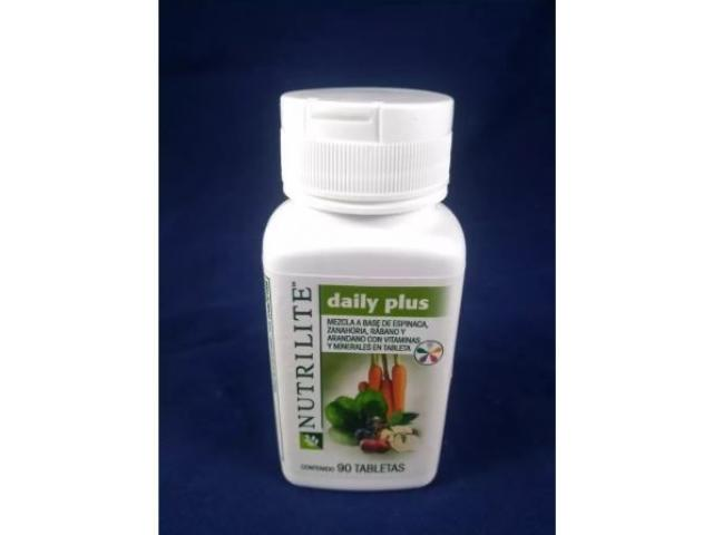 Daily Plus Multivitaminico De Nutrilite 90 tbl - 1/2