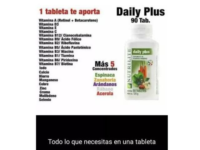 Daily Plus Multivitaminico De Nutrilite 90 tbl - 2/2