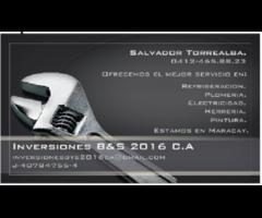 inversiones B&S 2016 C.A