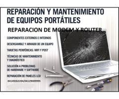 REPARACION DE MODEM Y COMPUTADORAS