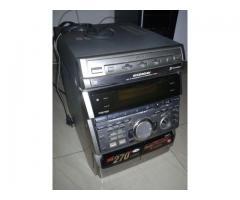Equipo sonido / Mini componente / Sony modelo: HCD-RXD10AV / 270W (dañado -reparar-repuestos)