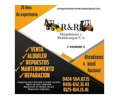 Venta de repuestos para Maquinaria Pesada, Maquinaria Agrícola Montacargas Plantas eléctricas y Tran