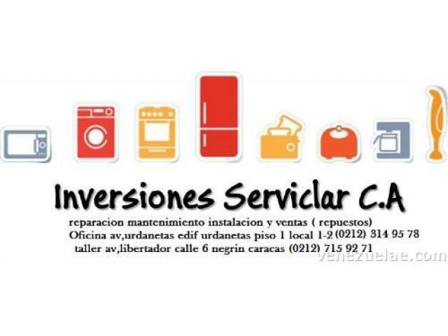 servicio tecnico reparacion de neveras lavadoras secadoras cocincas hornos vineras - 1/3