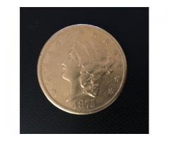 VENDO MONEDA COLECCIÓN MOROCOTA USA 1875