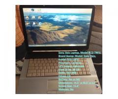 Sony Vaio Laptop, Model PCG-7M1L (120vrds)