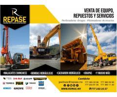 VENTAS DE EQUIPO, REPUESTOS Y SERVICIOS
