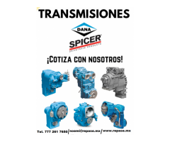 TRANSMISIONES DANA SPICER (COMPONENTES)