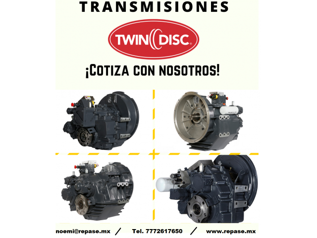 TRANSMISIONES TWIN DISC (COMPONENTES) - 1/1