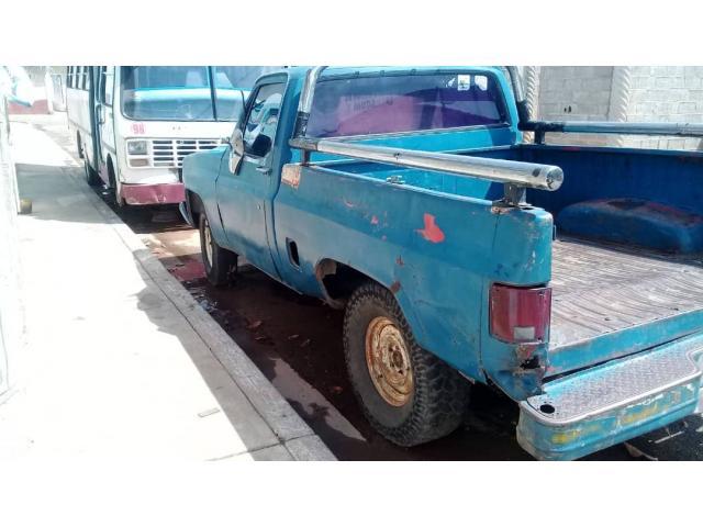 Barata Camioneta Pickup Chevrolet año 84 - 4/6