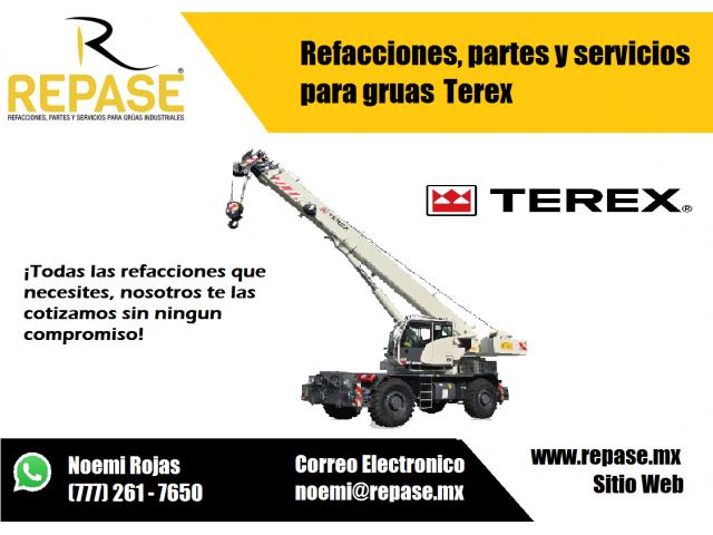 REFACCIONES PARA GRUAS TEREX - 1/1