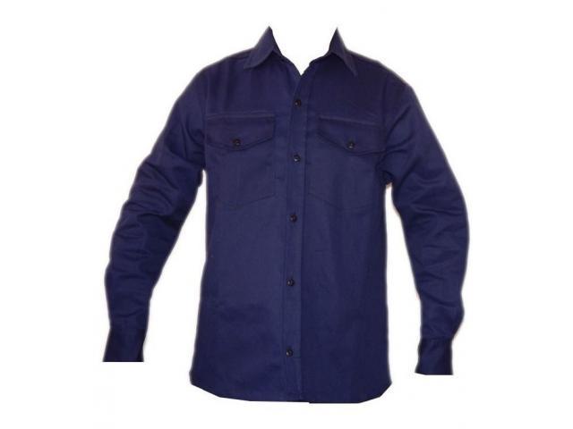 Camisa de Drill para soldador , manga corta o manga larga - 2/2