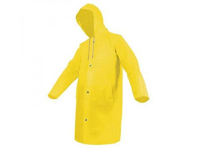 Impermeable Tipo Gaban , 300 Micras , Color amarillo, venta al  mayor y detam - 1/2