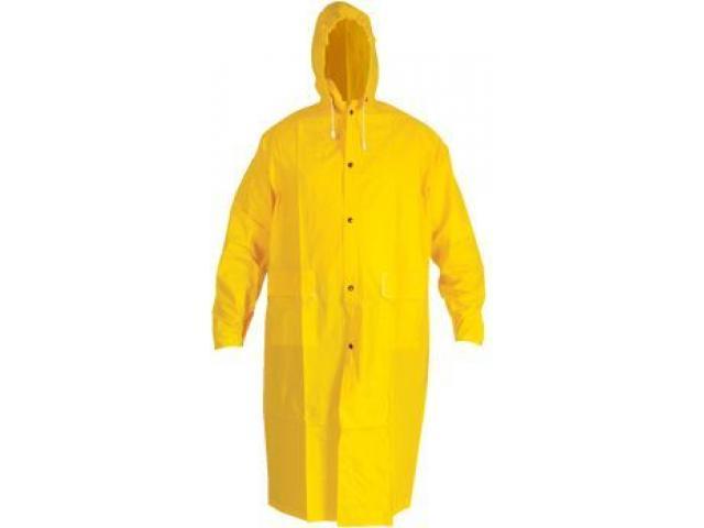 Impermeable Tipo Gaban , 300 Micras , Color amarillo, venta al  mayor y detam - 2/2
