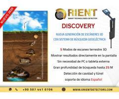 Escáner de tierra híbrido Groundtech Discovery y detector de metales geofísico