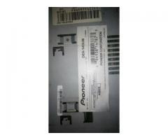 Reproductor pioneer , puerto de entrada USB, AUX, CD