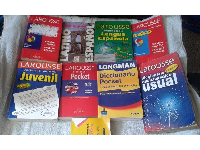 DICCIONARIOS INGLES/ESPAÑOL Y ESPAÑOL LAROUSSE - 2/6