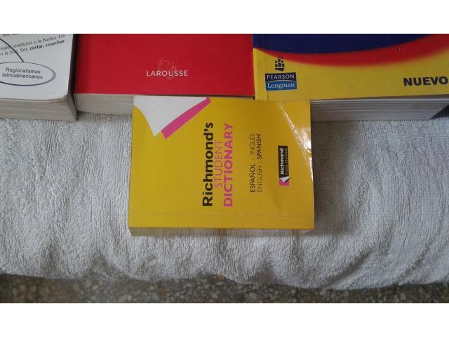 DICCIONARIOS INGLES/ESPAÑOL Y ESPAÑOL LAROUSSE - 3/6