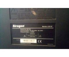 Televisor siragon 55 pulgadas sin control