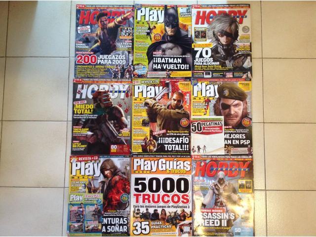 Combo de 15 Revistas de Videojuegos (OLD SCHOOL) - 1/3