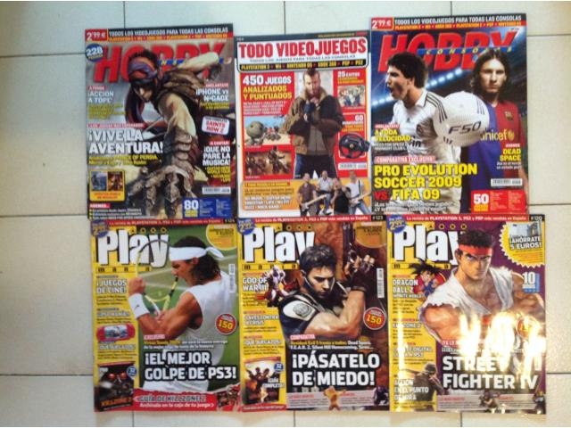 Combo de 15 Revistas de Videojuegos (OLD SCHOOL) - 2/3