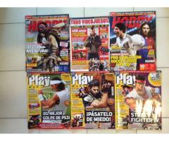 Combo de 15 Revistas de Videojuegos (OLD SCHOOL)
