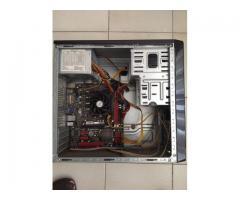 Caja De Pc Con Placa Madre Dañada, para repuesto (incluye Cable De Fuente y Cables de la Placa)
