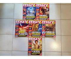 "Combo de Seis Revistas de la Serie ""Muy Interesante"""