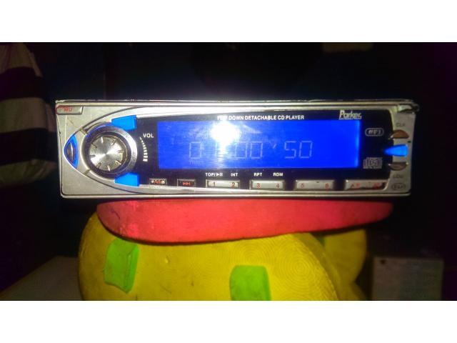 Radio Reproductor De Carro Marca Parker - 1/6