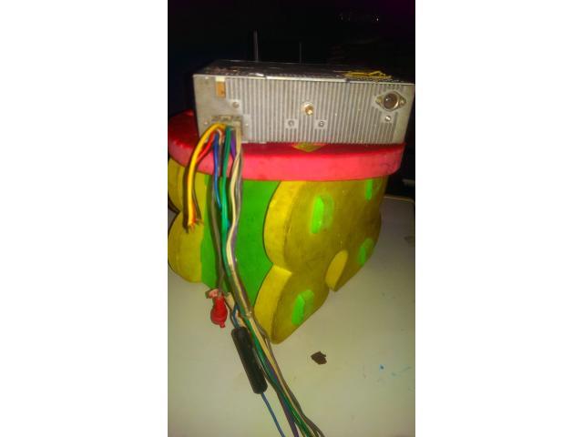 Radio Reproductor De Carro Marca Parker - 5/6