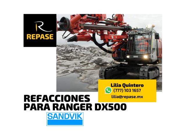 REFACCIONES PARA RANGER DX500 SANDVIK - 1/1