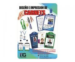 Diseño e Impresión de Carnet