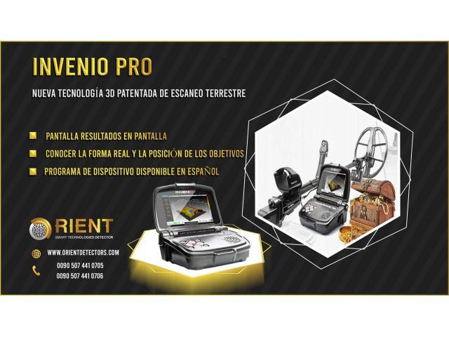 Detector de oro y metales multiusos Invenio Pro - 1/1