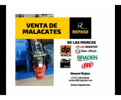 VENTA DE MALACATES (WINCHES)