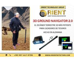 Navegador de tierra 3D Mejor detector de tesoros profundos