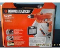 taladro percutor black decker 3/8  nuevo