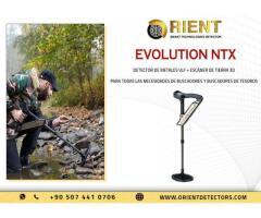 Escáner de suelo OKM Evolution NTX y detector de metales VLF