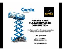 PARTES PARA PLATAFORMAS DE COMBUSTIÓN GENIE